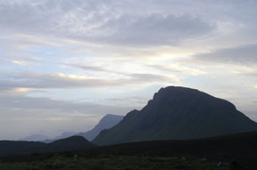 Mountains near Staffin (Photo: Mike Mackay)
